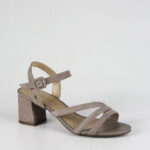 Sandálias de Salto Cubanas DION100BEIGE