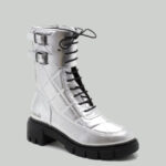 Boots, FEEL120SILVER